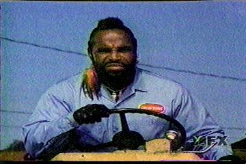 Mr. T is one bad mutha!